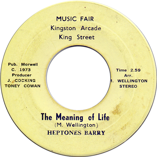 Heptones, The - The Meaning Of Life - Best Of The Heptones 1966-1976