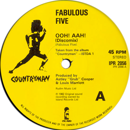Fabulous Five Lee Perry Ooh Waah Dreadlocks In Moonlight
