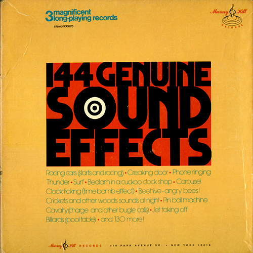 144 GENUINE SOUND EFFECTS