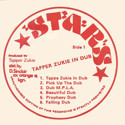 Tapper Zukie In Dub