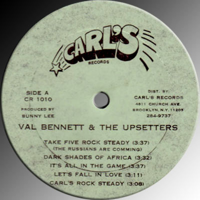 Val Bennett & The Upsetters